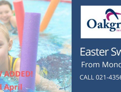 Oakgrove Easter Swim Camp 2018